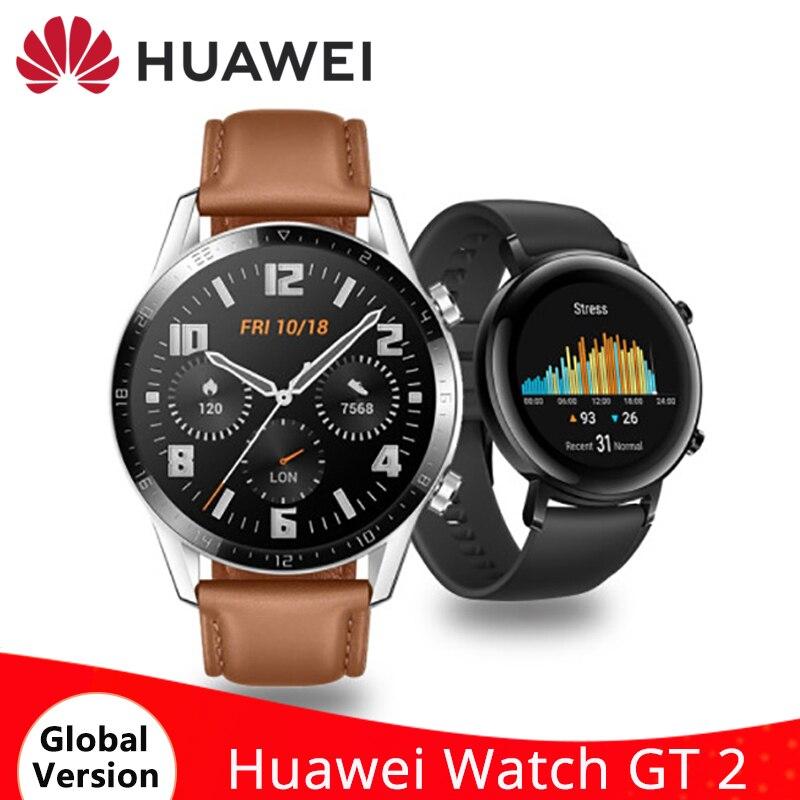 HUAWEI Watch GT 2 GT2 Smart Watch Blood Oxygen 14 Days Battery 5ATM Waterproof Bluetooth Sport Smartwatch GPS Heart Rate Monitor|Smart Watches| - AliExpress