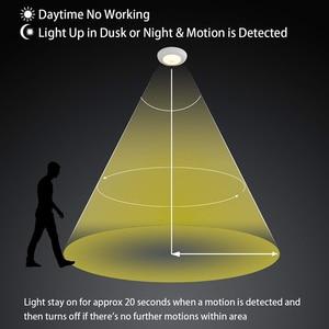 Image 3 - สมาร์ท LED Motion Sensor Night Light 5w 7W 9W 12W 18W 220V PIR Sensor หลอดไฟโคมไฟเพดานสำหรับบันไดบ้านสีขาว