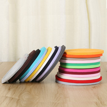 Colourful 10mm 20mm Cotton Ribbon Webbing Herring Bonebinding Tape Lace Trimming for Packing Accessories DIY 5meter