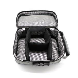 Image 4 - Odor Proof Stash Case Container For Herbs Medicine Lock Smell Proof Bag Box Bag Travel Storage Case