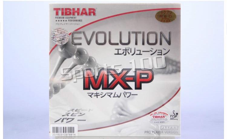 TIBHAR EVOLUTION MXP MX-P Non-tacky Cake Sponge Germany Table Tennis Rubber Pips-in Ping Pong Sponge TENERGY Style