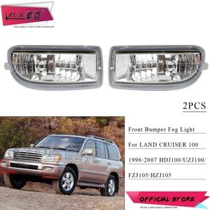 ZUK 2PCS Front Bumper Fog Light Driving Lamp For TOYOTA LAND CRUISER 100 1998-2008 UZJ100 FZJ100 HDJ100 81220-60030 81210-60111