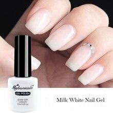 mybormula Milk White Gel Polish 7ml Nail Gel
