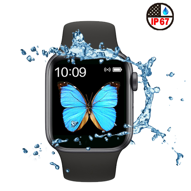 2020 IWO 14 Series 5 IWO14 Smart Watch 44MM For Apple IOS Android Phone Heart Rate Bluetooth Call Music Player PK T500 IWO 12 8