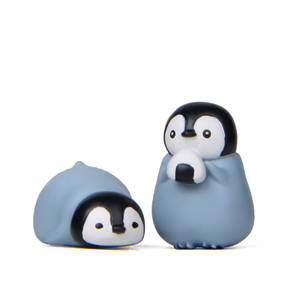3cm Cute penguin hand-made creative baking gardening small fresh landscape doll micro landscape animal resin ornament decoration