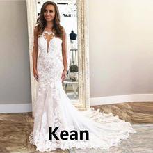 Свадебное платье с глубоким v образным вырезом и открытой спиной