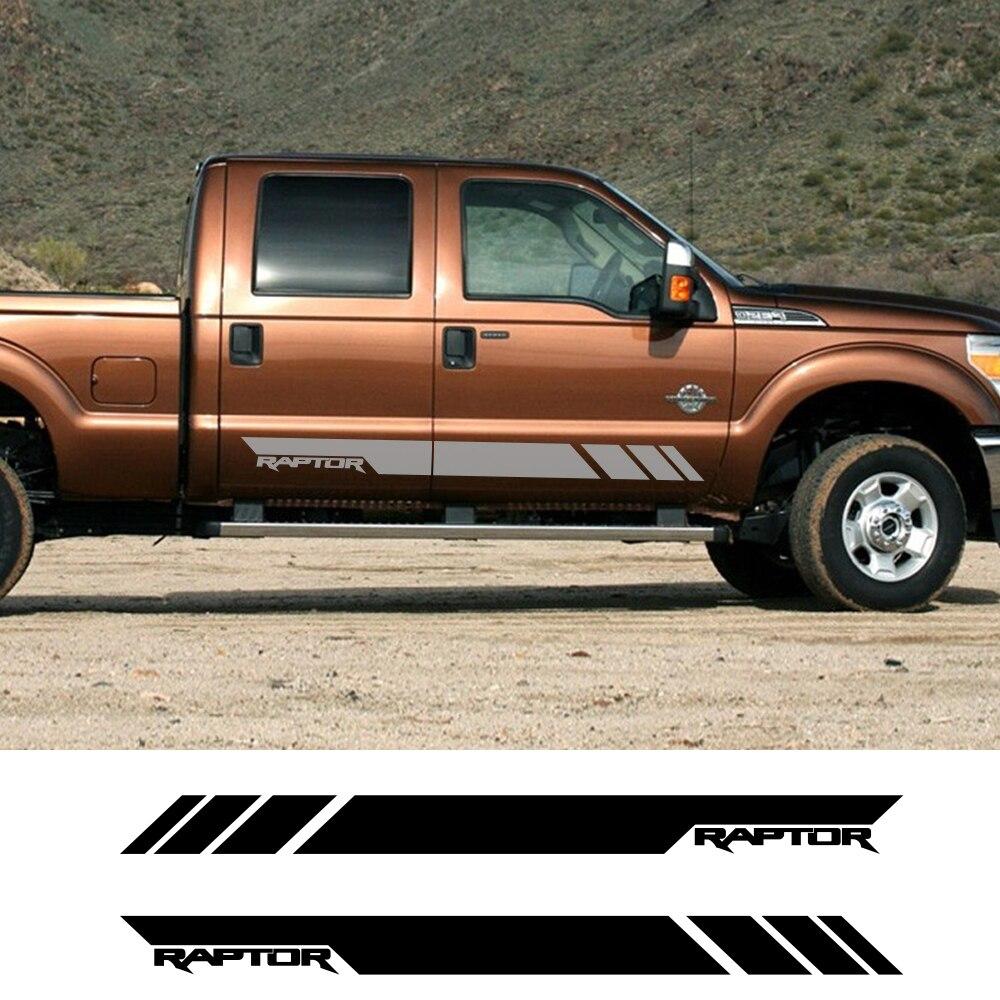 Multi Color Sport Decal Sticker For Ford F150 F250 Super Duty Truck Dodge Ram Silverado Sierra