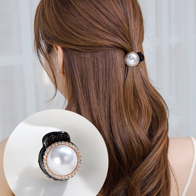 Accessories Women Pearl Claws Hair Clips Fashion Barrettes Pins Large Girls new