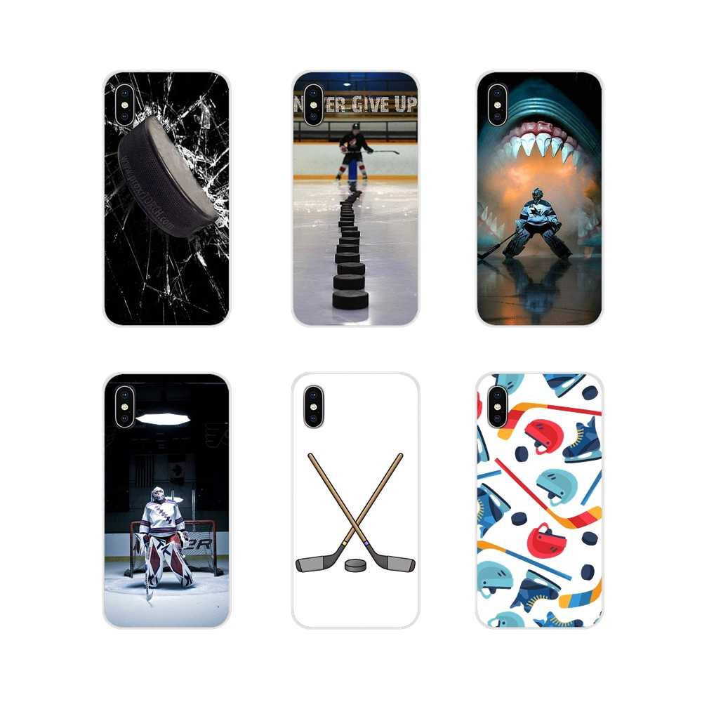 Hóquei no gelo esporte mom para apple iphone x xr xs 11pro max 4S 5S 5c se 6 s 7 8 plus ipod touch 5 6 casos macios transparentes capa