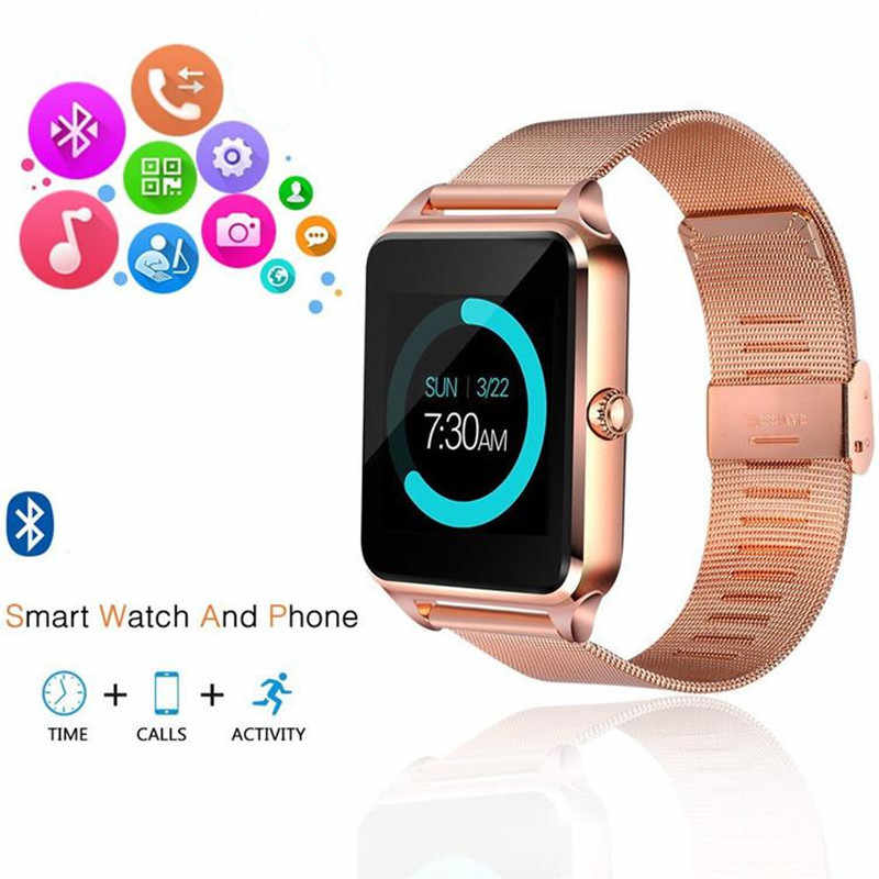 Z60 montre intelligente GT08 Plus bracelet en métal Support caméra SIM TF carte Bluetooth Compatible Android PK Y1 S8 X7D DZ09 V8 montre 1yw