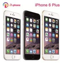 """オリジナルの apple の iphone 6 プラス 5.5 """"16/64/128 ギガバイト rom デュアルコア ios 8MP カメラ 3 グラム 4 4g lte 使用ロック解除電話"""