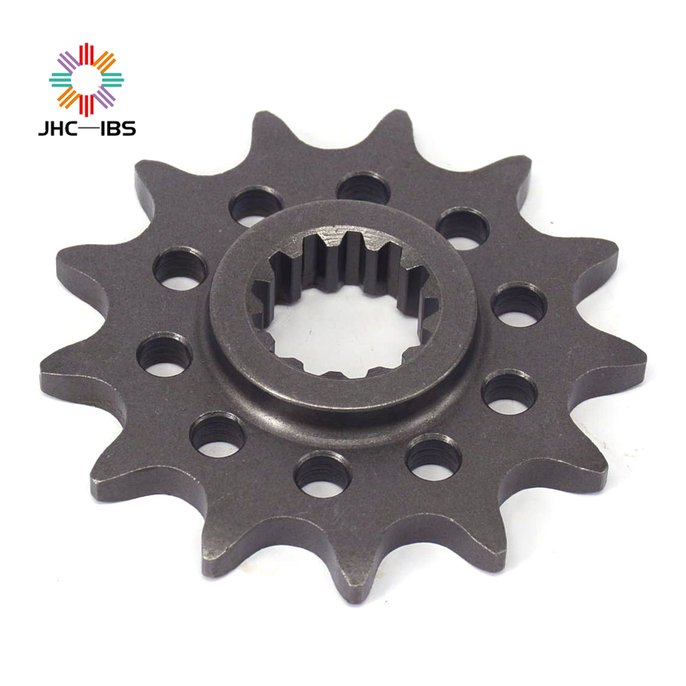 Motorcycle Front Chain Sprocket 13T For ZONGSHEN NC250 NC 250CC NC250CC KAYO T6 K6 BSE J5 RX3 ZS250GY-3 4 Valves Parts image