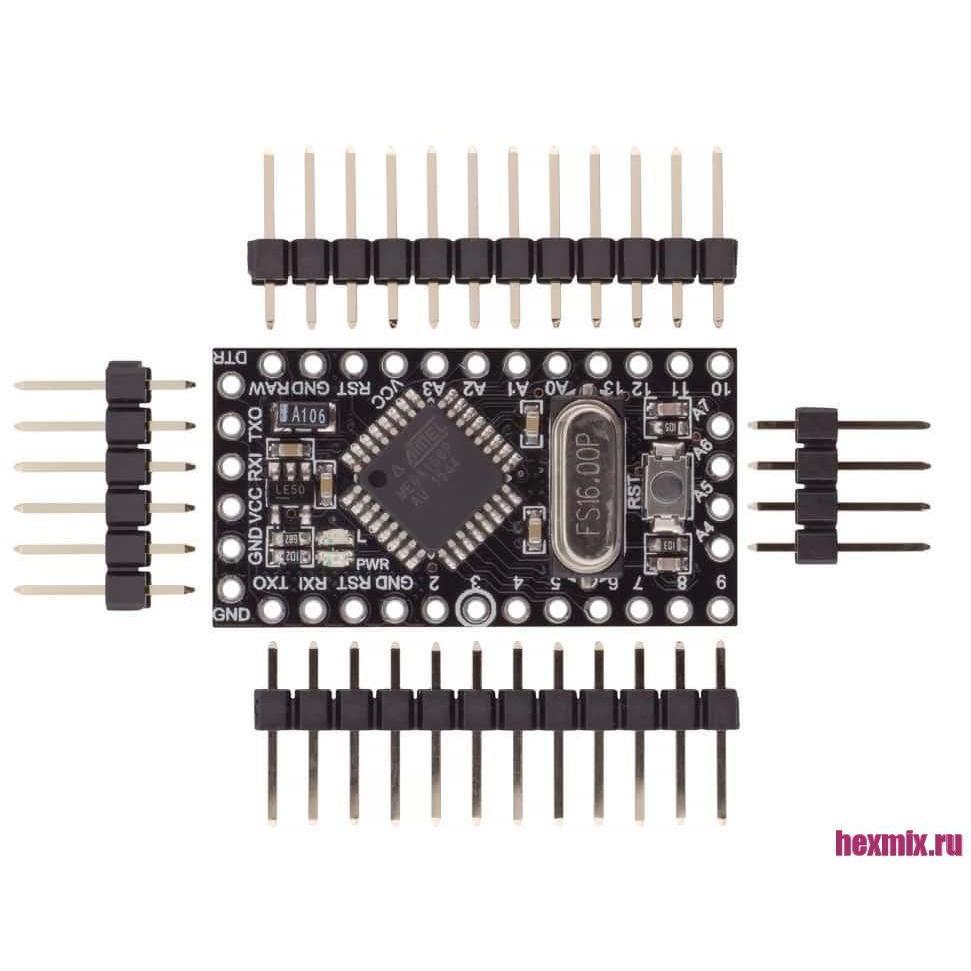 Arduino Pro Mini Compatible Board 5 V/16 MHz ATmega168