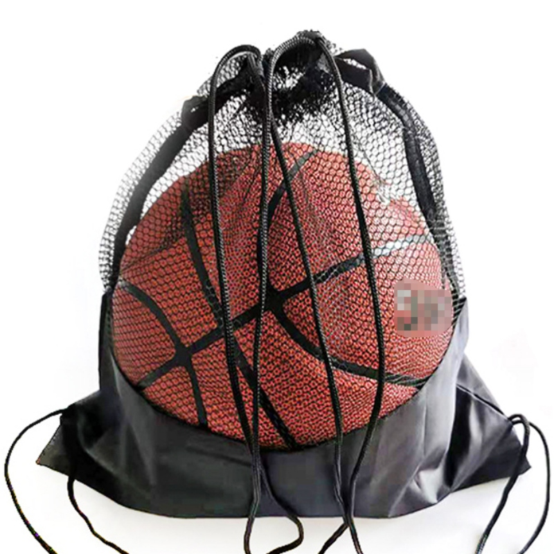 Sport Cover Mesh Bag Portable Football Storage Backpack Outdoor Basketball Volleyball Multifunctional Storage Bags Tools