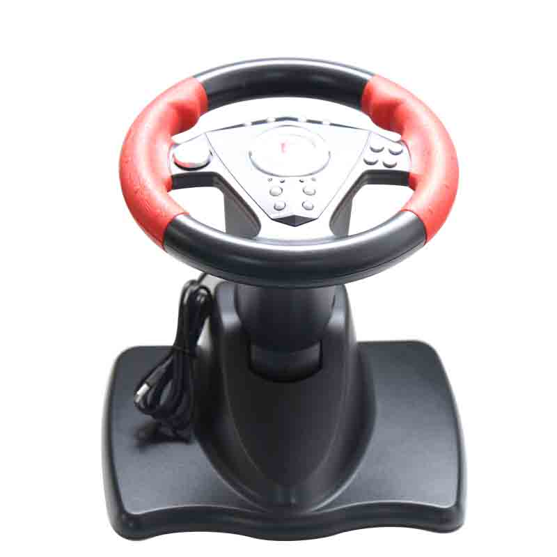 1Pcs P3808 Dillon PC game assessories racing steering wheels with handbrake gear suction vibration image