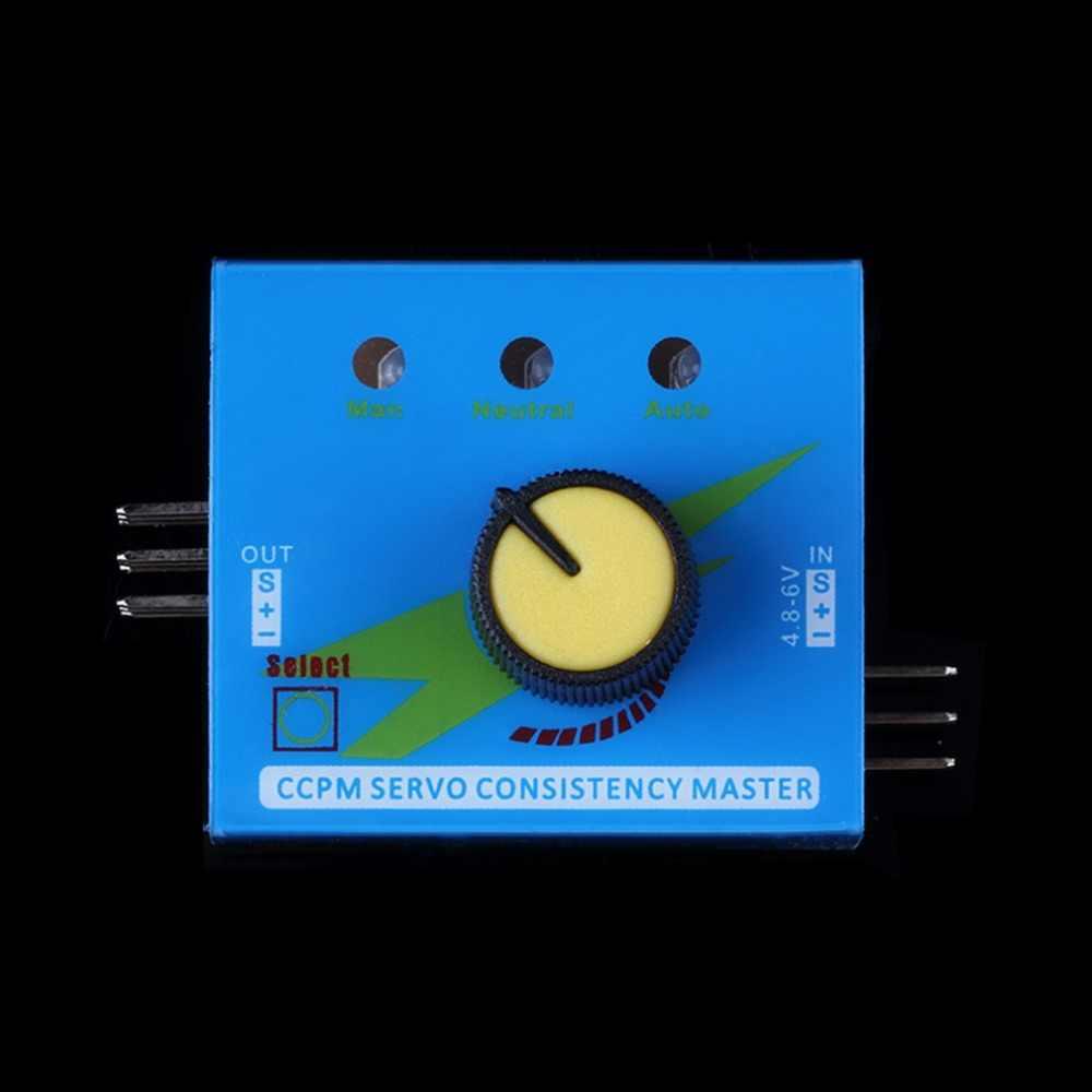 マルチサーボテスター 3CH ECS 一貫性スピードコントローラの元電源チャンネル Ccpm メーターマスターチェッカー RC Dron ヘリコプター部品 RC 趣味