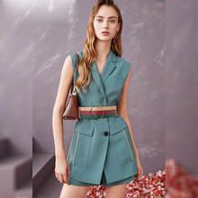Модный женский роскошный элегантный комплект из двух предметов