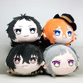 Anime Bungou bezpańskie psy Dazai Atsushi Chuuya Ryunosuke Cosplay śliczne pluszowe Dango maskotki lalki zabawki rzuć poduszka lalek świąteczny prezent tanie i dobre opinie Dla dorosłych Kostiumy doll