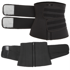 Image 5 - Waist Corset Trainer Sauna Sweat Sport Girdles Cintas Modeladora Women Lumbar Shaper Workout Trimmer Shapewear Slimming Belt