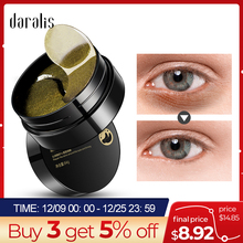 Black Pearl Golden Eyes Hydrogel Patches Repairing Wrinkle Remover Dark Circle Pads Patches Under Ey