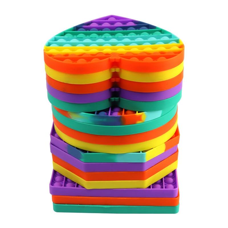 Fidget-Toys Autism Anti-Stress Squishy Big-Size Reliver Bubble-Sensory Adult Push It img5