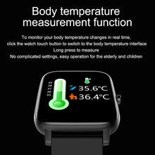 Smartwatch da uomo previsioni meteo in tempo reale Tracker di attività cardiofrequenzimetro sport da donna Smart Watch uomo per Android IOS
