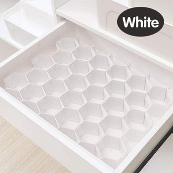 Adjustable Drawer Honeycomb Clapboard Partition Divider Box Separator DIY Grid Storage Organizer Cell Sorting Panties Socks