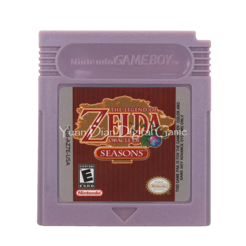 For Nintendo GBC Video Game Cartridge Console Card The Legend Of Zeld Oracle Of Seasons English Language Version