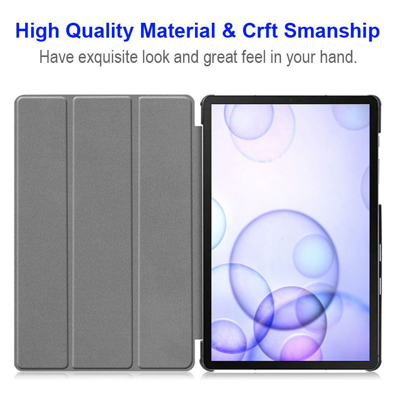 """Magnetic Folding Stand Cover Case For Samsung Galaxy Tab S5 E S5e 10.5"""" SM-T720 T725 PU Flip Leather Case For Samsung S5E T725C-2"""