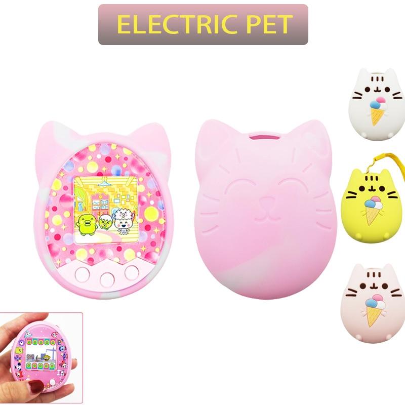 Kawaii Pusheen Electronic Tamagotchi Virtual Pet and Cover Cases 1