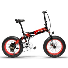 """LANKELEISI Fat E-Bike 20 inch Fat Tire Electric Bike 48V 1000W 13AH LG Lithium Battery Electric Bicycle Free Shipping cheap 500w 20"""" 30-50km h Brushless Aluminum Alloy 31 - 60 km Two Seat Luxury Type X2000 1000W Rear Hub Motor 48V 13AH LG Lithium Battery"""