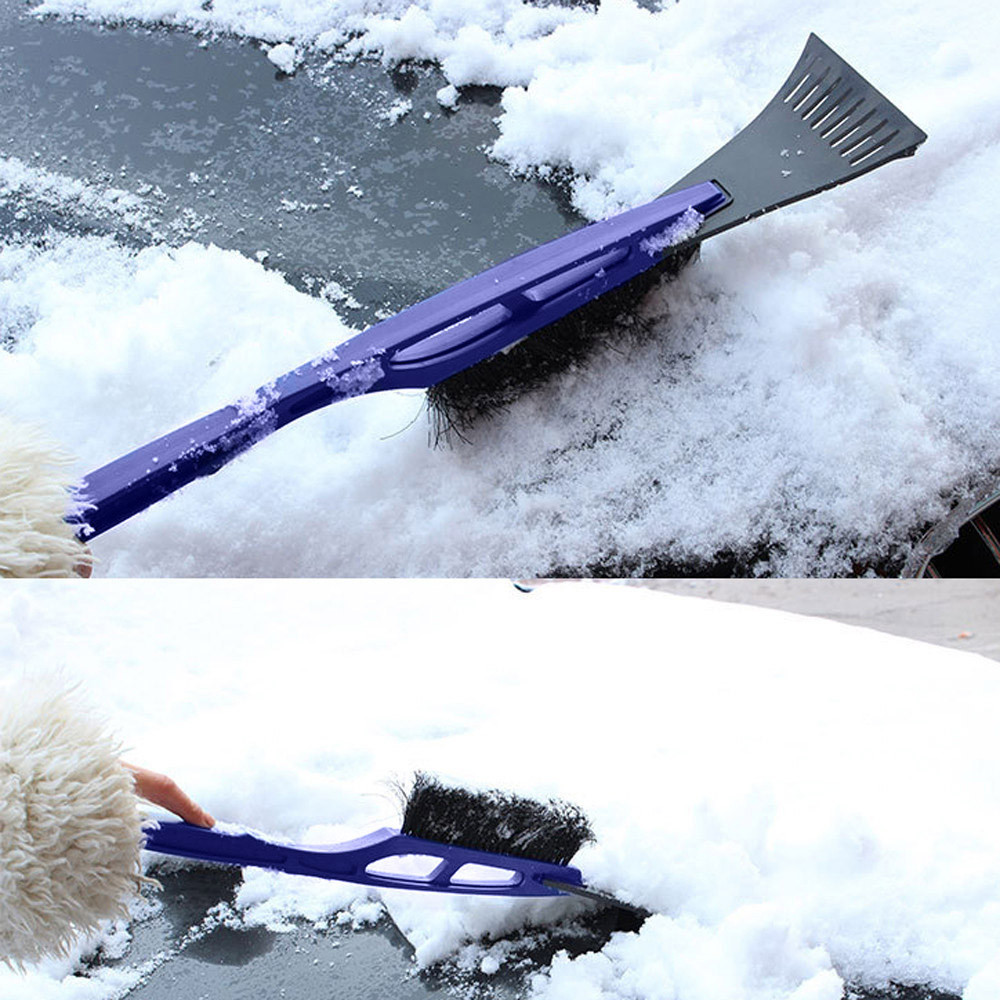 2019 Winter Ice Scraper Car Windshield Multifunctional Snow Brush Safety Hammer