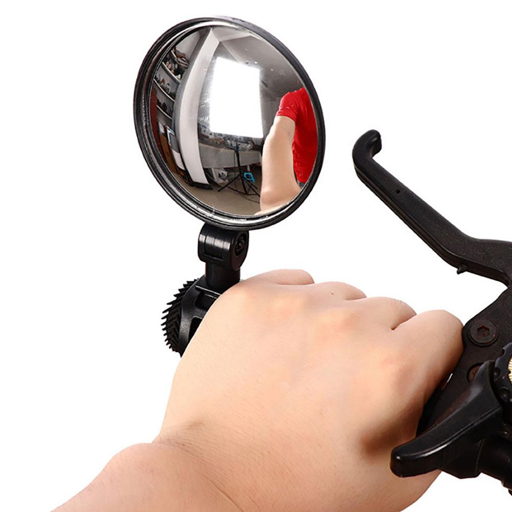 MTB Mountain Road Bike Rear Mirrors 360 Degree Rotation Bicycle Handlebar Mount Round Rearview Mirror Safety Cycling Equipment