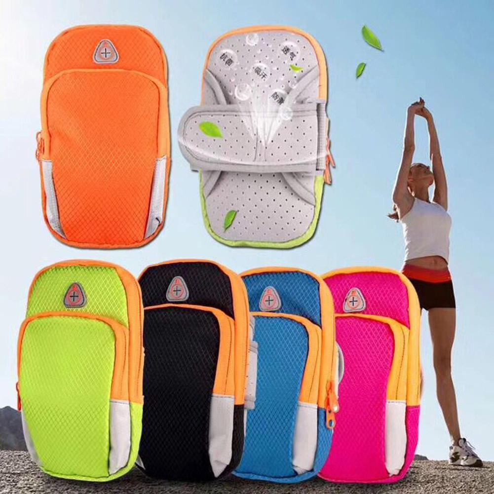 Universal Waterproof Mobile Phone Arm Bag Sport Running Wallet Pouch Phone Case Brazalete Deportivo Porta Cellulare Braccio Bag