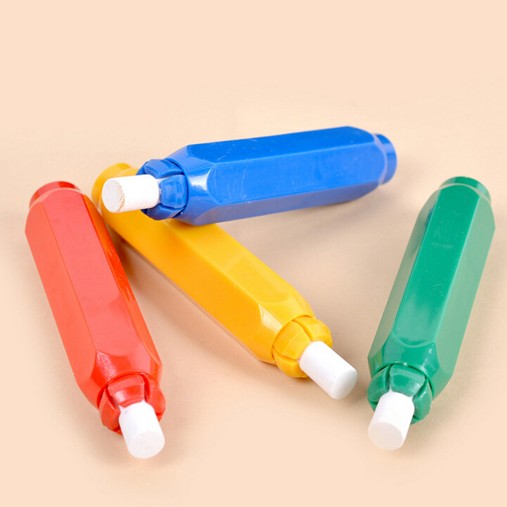 1pcs Porta Tiza Chalk Clip Non Dust Clean Teaching On Chalkboard wall sticker magnetic Dustless Chalk Holders Holder Pen