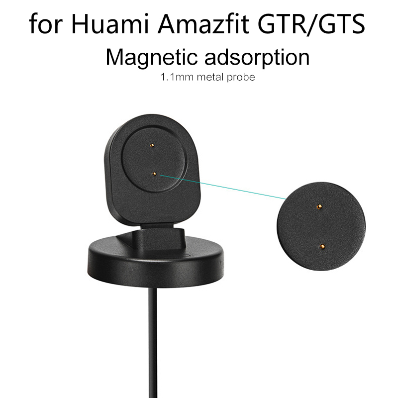 New Portable Wireless Charger For <font><b>Huami</b></font> <font><b>Amazfit</b></font> GTR / GTS Smart Watch Fast <font><b>Charging</b></font> USB <font><b>Charging</b></font> Dock Smartwatch Accessories image