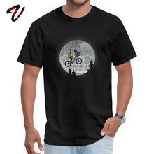 T-shirt pour hommes, T-shirt E.T. T-shirt en coton Extra-terrestre pour hommes, coupe Slim, à manches courtes, de luxe, Swag