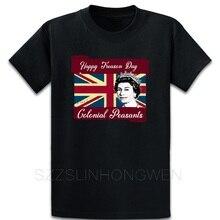 Camiseta Vintage cómoda de algodón con cuello redondo de primavera con diseño personalizado