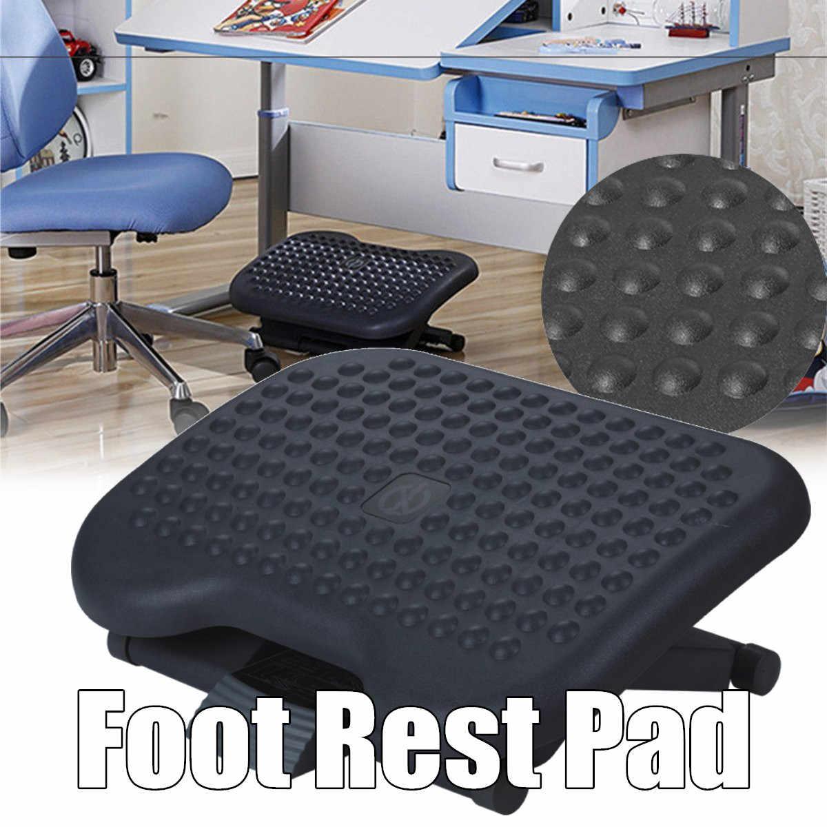 Adjustable Tilting Footrest Under Desk Ergonomic Massager Multifunction Foot Rest Pad Footstool Home Office Health Care Black Aliexpress