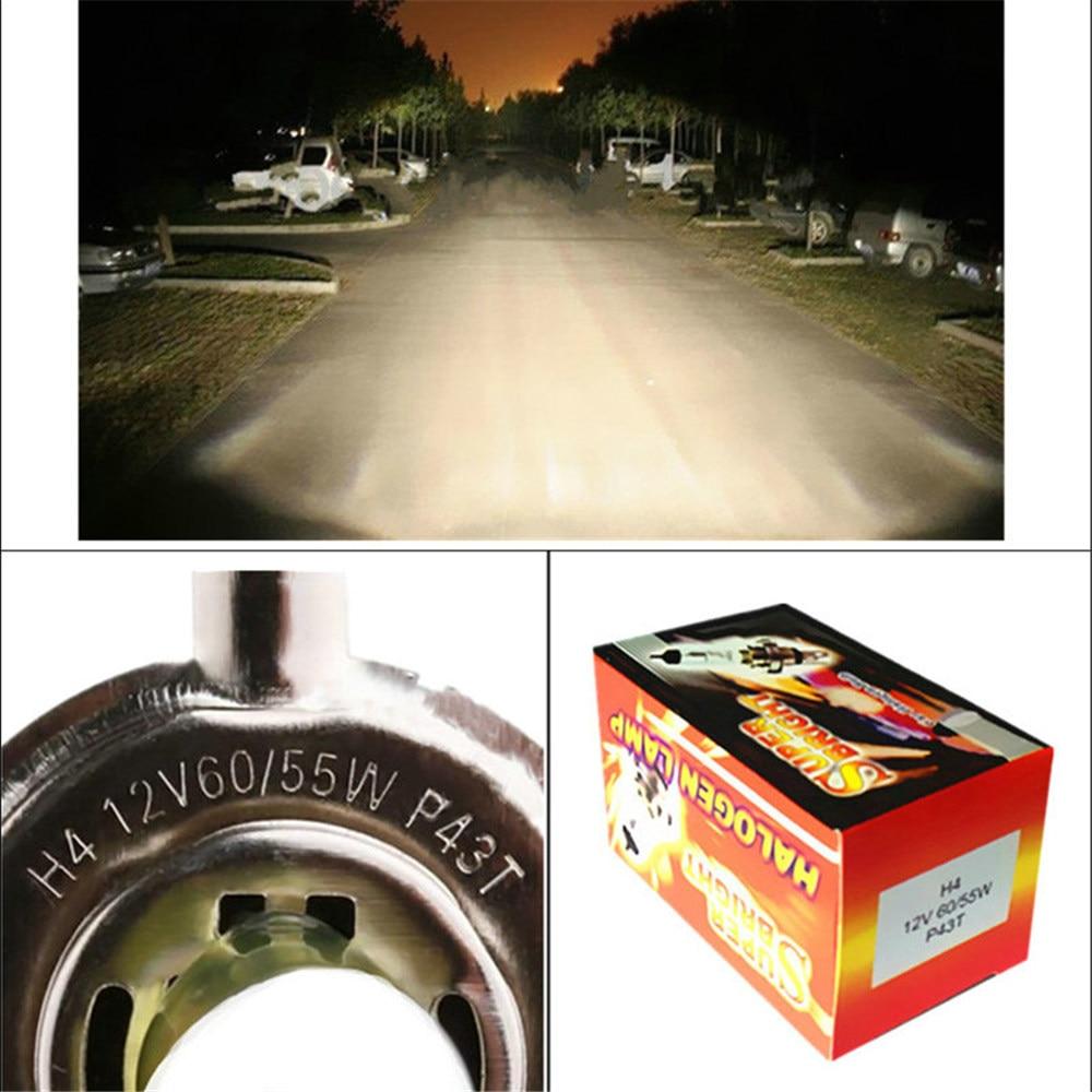 2pcs H4 55W 12V κίτρινο φώτα ομίχλης - Φώτα αυτοκινήτων - Φωτογραφία 6