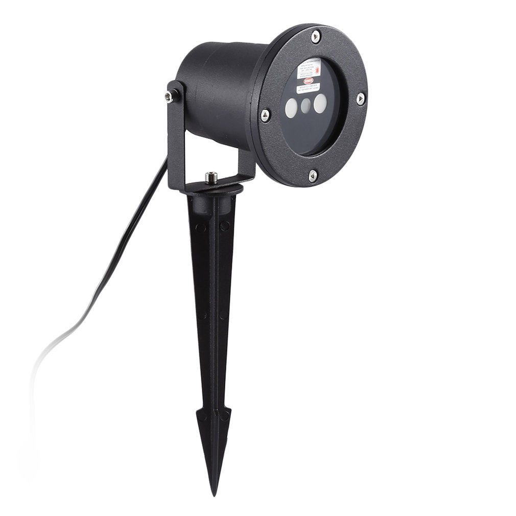 Conception Unique en alliage d'aluminium IP67 extérieure étanche Mini lumière Laser 3 couleurs lampe à LED DJ maison Didco Parties décoration lumineuse - 3