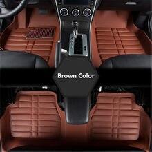 Flash Mat de coche de cuero alfombras de piso para Bmw x5 e53 e70 2004-2013, 2014- 2016, 2017 de 2018 de Auto pie almohadillas alfombra para automóvil cubierta
