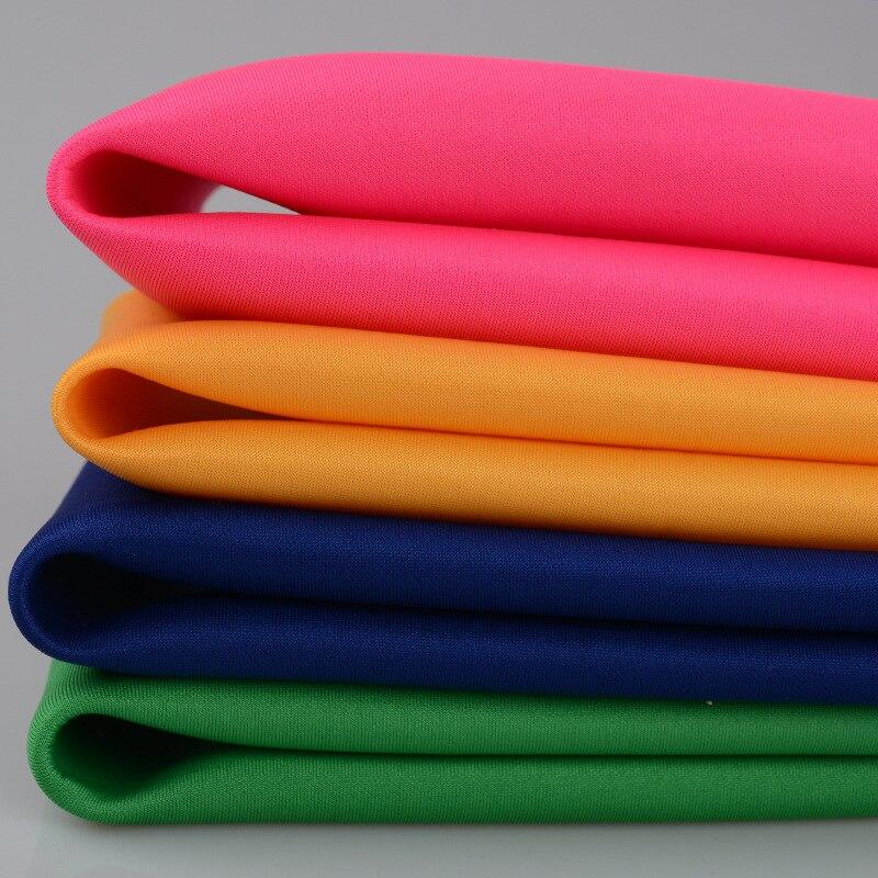 Polyester Spandex tricoté robe de plongée tissu bonne draperie pour jupe robe manteau