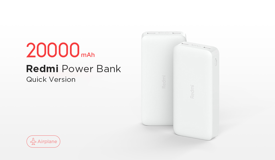Xiaomi Redmi 20000mAh 18W Fast Charge Power Bank PB200LZM 4