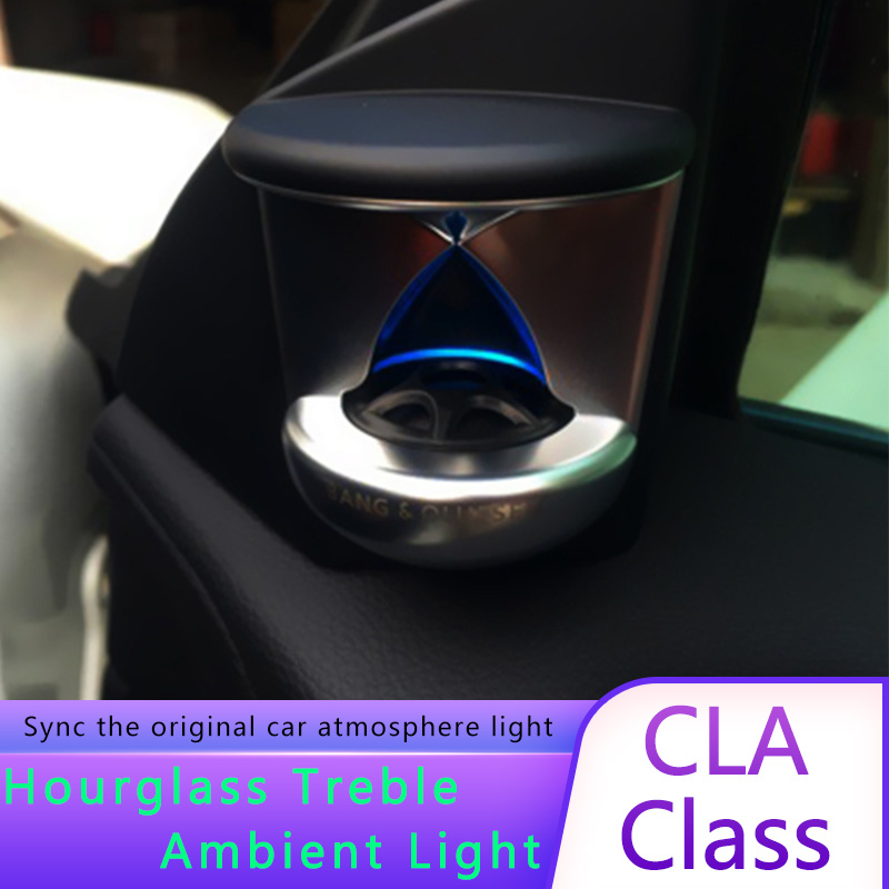 For Mercedes CLA class W117 year 2015+ <font><b>3D</b></font> LED tweeter interior car accessories <font><b>12</b></font> colours <font><b>3D</b></font> speaker sound Audio Speaker image