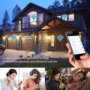 Image 5 - 스마트 Wifi 전원 스트립 서지 보호기 여러 EU 플러그 확장 소켓 USB 메모리 상태 원격 제어 Alexa Google 홈