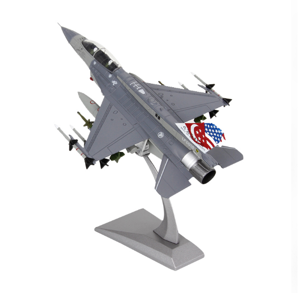 JASON TUTU Aircraft Plane Model 1:100 F16 Singapore Fighter Toy For Collection Airplane Alloy Model Diecast 1:100 Metal Planes