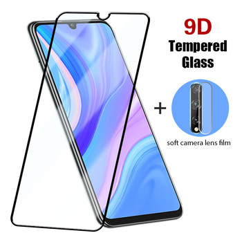 9D Full Cover Tempered Glass for Huawei P30 Lite P20 Pro Protective Glass Black Edge Back Lens Protector for Huawei P40 Lite E image