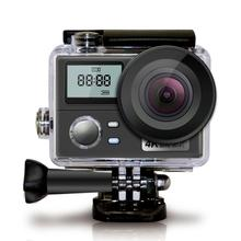 WiFi Ultra HD Action Camera 4K 30fps Dual Screen 16MP Sport Camera Go Waterproof Pro Sports Cam Helmet Video Recording Camera thieye action camera i30 4k 1080p 30fps full hd 12mp photos 60m waterproof 2 0 screen for diving riding sports camera