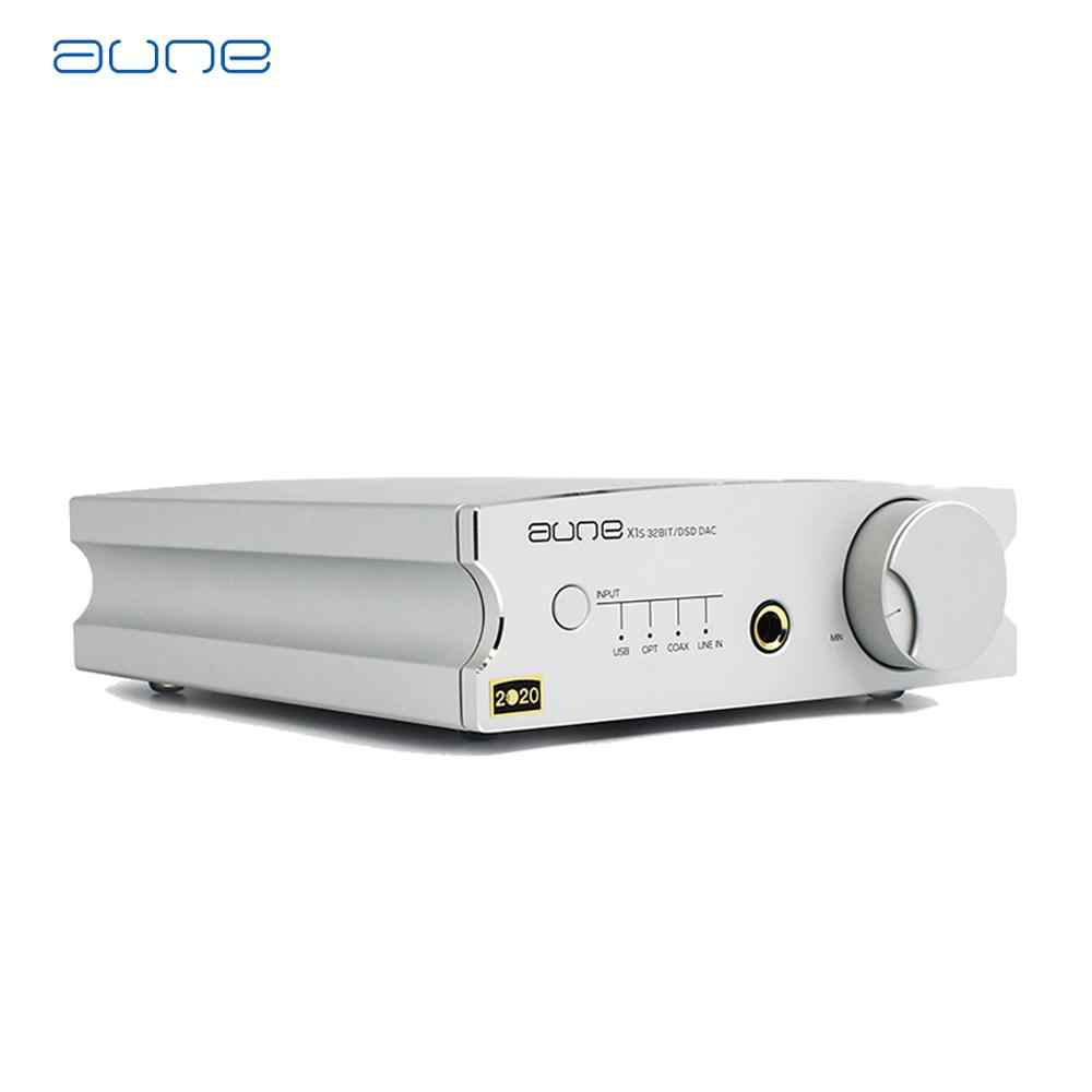 Aune X1S PRO Headphone Amplifier ES9038Q2M Chip Decoding 32BIT/768K DSD512 USB/Coaxial/Input Optik DAC amplifier Amp Dop/128